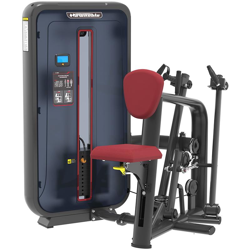 康强商用健身房专用器械力量器械专项器械无氧健身器械 6005坐式背部划船训练器