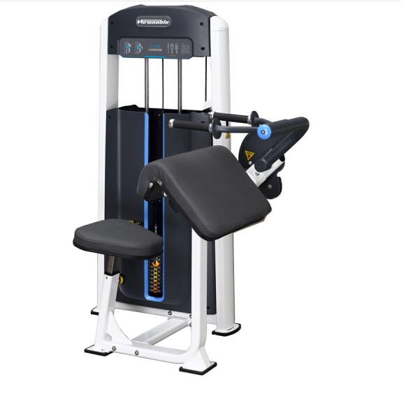 商用健身房专用器械力量器械专项器械无氧健身器械 1002坐式三头肌训练器