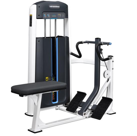 商用健身房专用器械力量器械专项器械无氧健身器械 1005坐式背部划船训练器