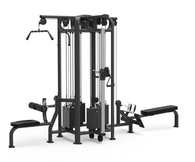 康强四方位多功能训练架360综合训练器健身房专用 9028A四方位训练架