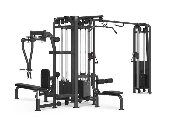 康强四方位多功能训练架360综合训练器健身房专用 9028B五方位训练架