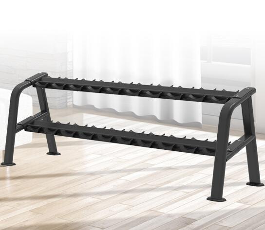 商用健身器材健身房团购专项力量器械 6043豪华双层哑铃架