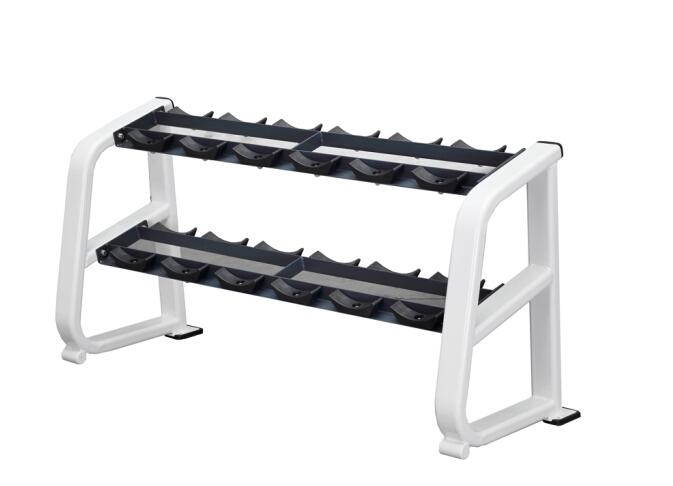 商用健身房专用器械力量器械专项器械无氧健身器械 BK1043 双层哑铃架(六对)