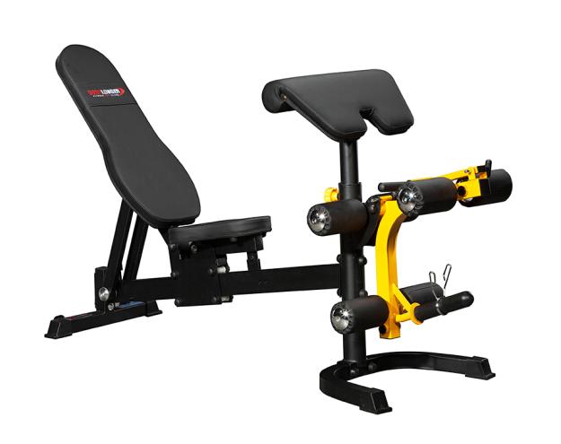 康强-BK-3004多功能史密斯机哑铃凳卧推凳出口版 健身器材