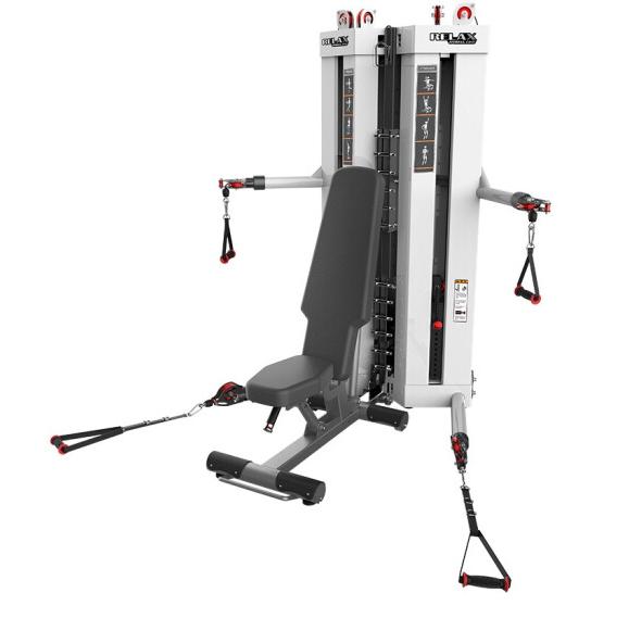 澳沃OURSLIFE 推肩推胸绳动训练站FTM5102商用健身房专用综合训练器健身器材 送货到家