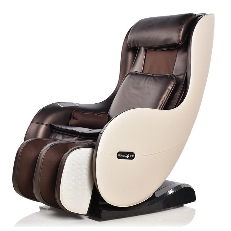 荣康(Rongkang)按摩椅家用多功能智能小型按摩椅RK-1900A全自动按摩仪电动按摩沙发椅子