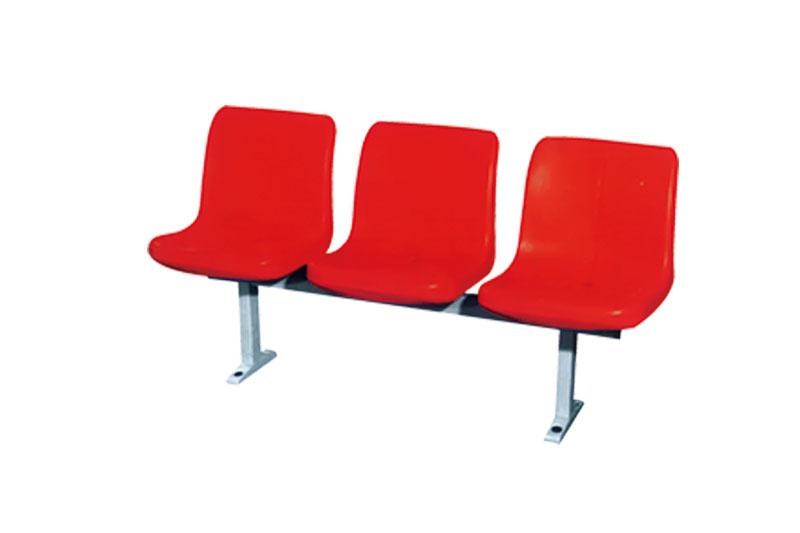 落地式中空塑料椅