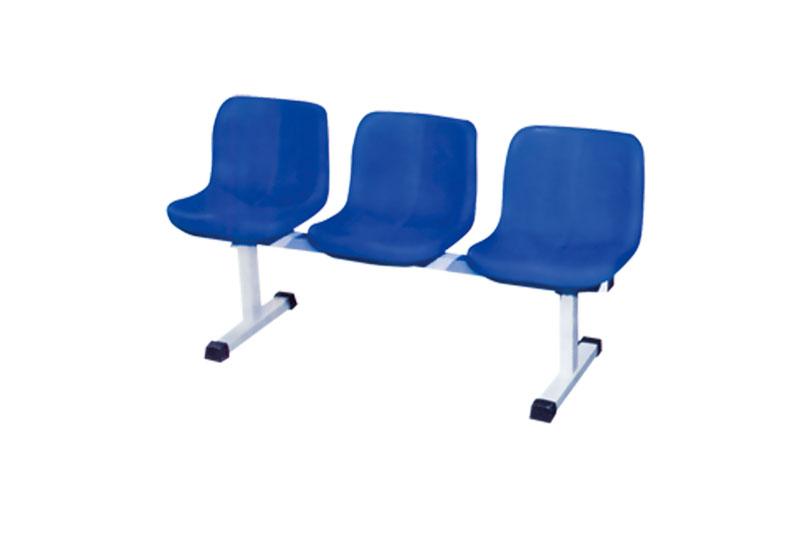 移动式中空塑料椅