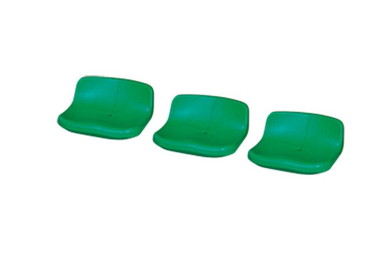 低靠背中空塑料椅