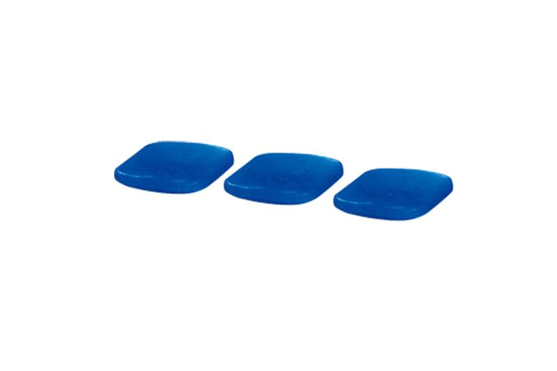 无背中空塑料椅