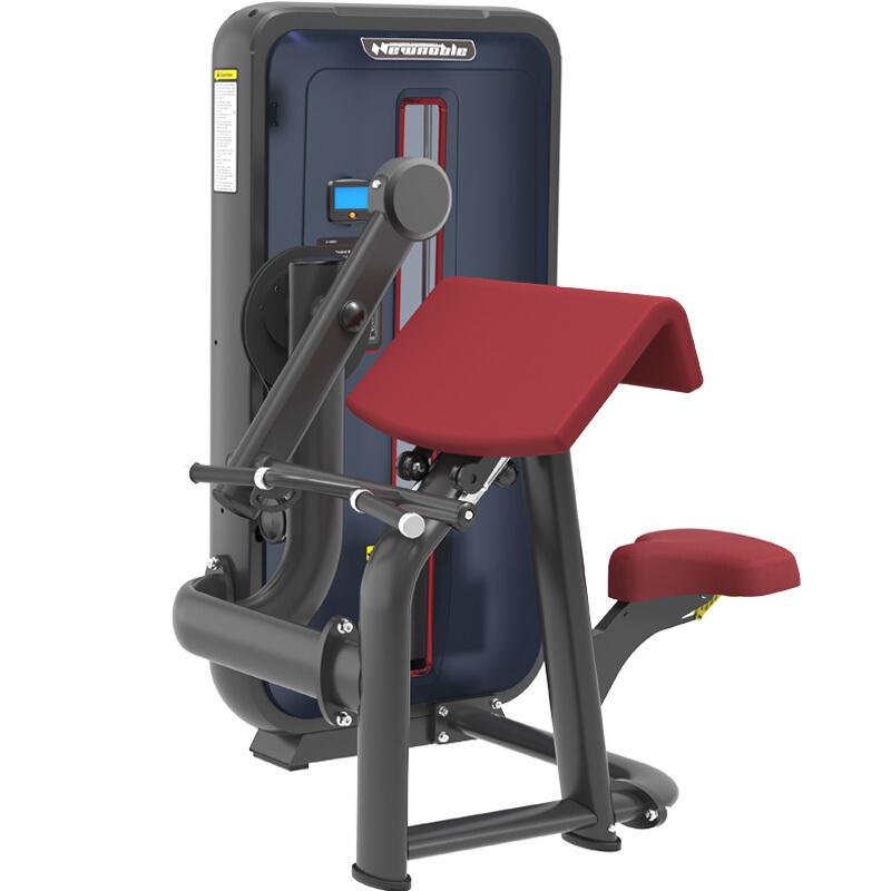 新贵族综合训练器商用健身器材健身房专用上肢力量专项训练器 6001坐式二头肌训练器