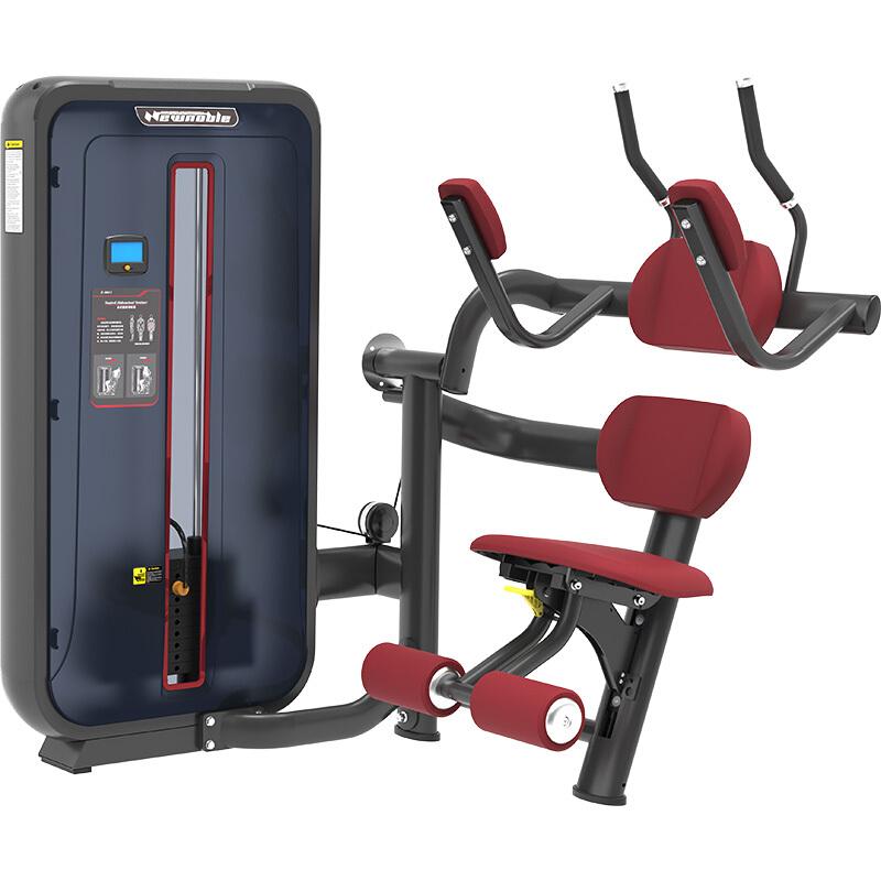 新贵族综合训练器商用健身器材健身房专用上肢力量专项训练器 6011坐式腹肌训练器