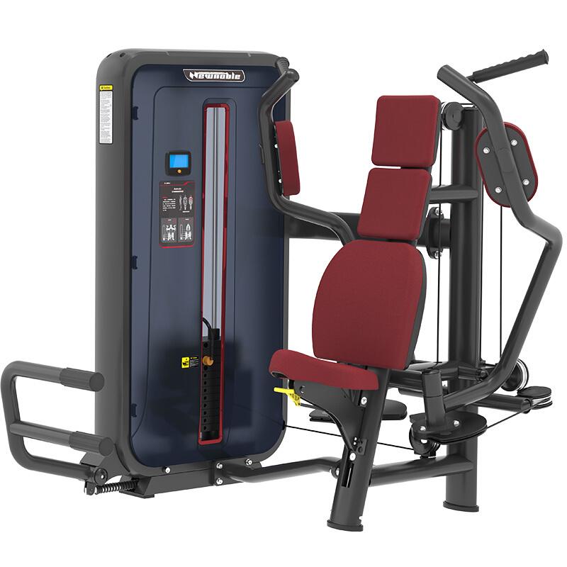 新贵族综合训练器商用健身器材健身房专用上肢力量专项训练器 6004坐式蝴蝶胸肌训练器