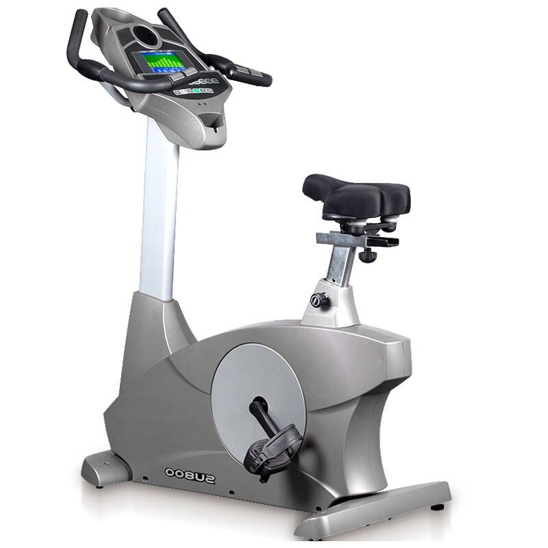 岱宇(DYACO)健身车SU800进口商用有氧磁控立式健身车健身房静音单车脚踏车 送货安装 SU800