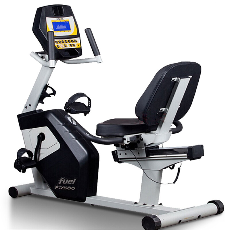 DYACO岱宇FR500进口磁控静音健身车家用室内卧式健身脚踏车减肥车