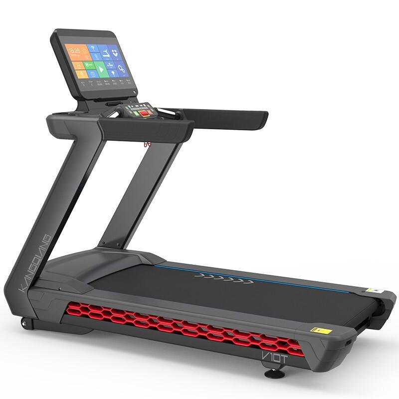 康强跑步机V10/V10T商用健身房专用健身器材全新上市 V10T彩屏款送货到家上门安装
