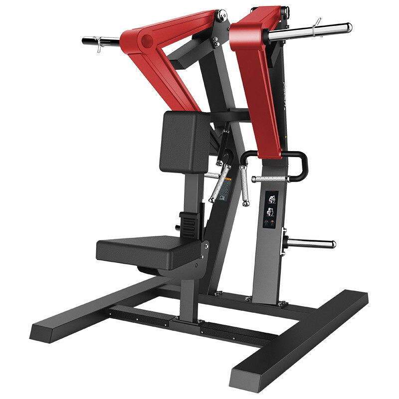 澳沃OURSLIFE商用坐姿背肌后展训练器L2007自由力量专项训练器悍马健身器材 送货安装