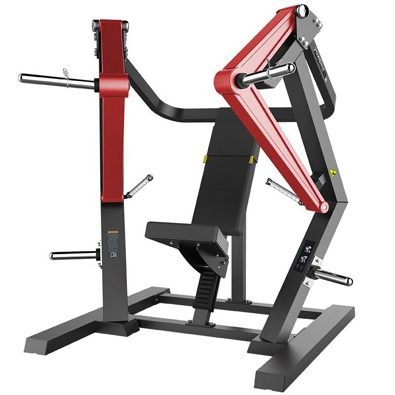 澳沃OURSLIFE商用坐姿下斜推胸训练器L2005自由力量专项训练器悍马健身器材 送货安装