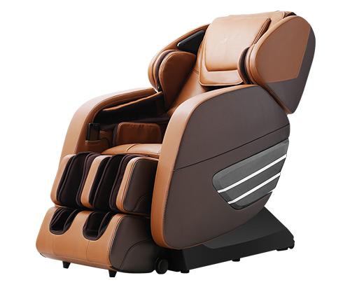 荣康按摩椅X6家用电动零重力太空舱全身多功能全自动按摩沙发椅子 优雅棕白