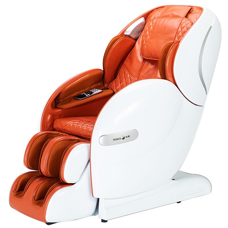 荣康RK1902S按摩椅家用全自动太空舱豪华全身揉捏按摩椅家用新款 典雅棕