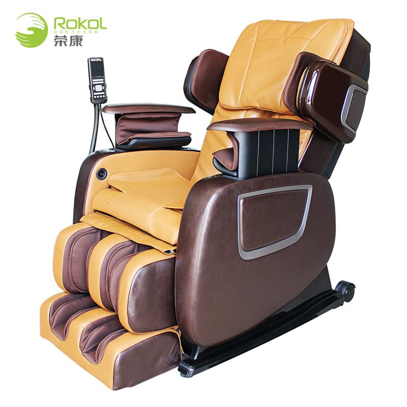 荣康(Rongkang)按摩椅家用小型智能零重力全身自动多功能揉捏电动按摩沙发椅 RK-X5按摩椅