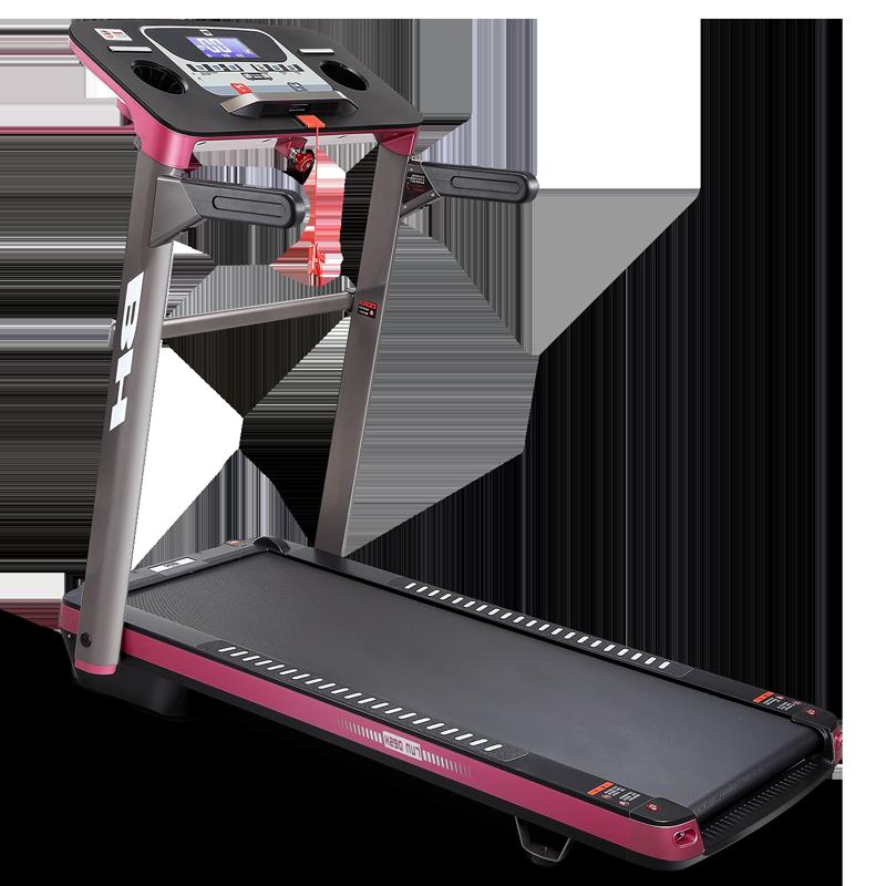 必艾奇BH跑步机家用免安装BT7020静音健身器材 双重折叠 送货到家 免安装