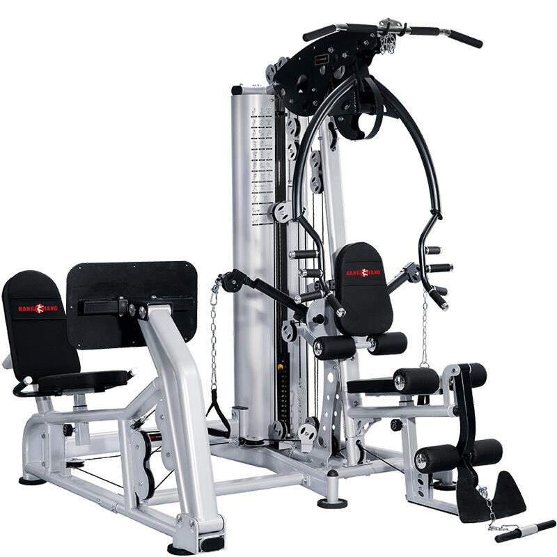 康强综合训练器BK179多功能轻商用组合铸铁配重小飞鸟健身器材 BK179B90公斤铸铁配重