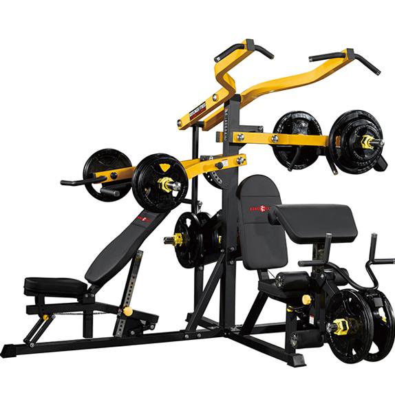 康强免维护力量训练器三方位综合训练器BK-167三人站大型组合健身器材