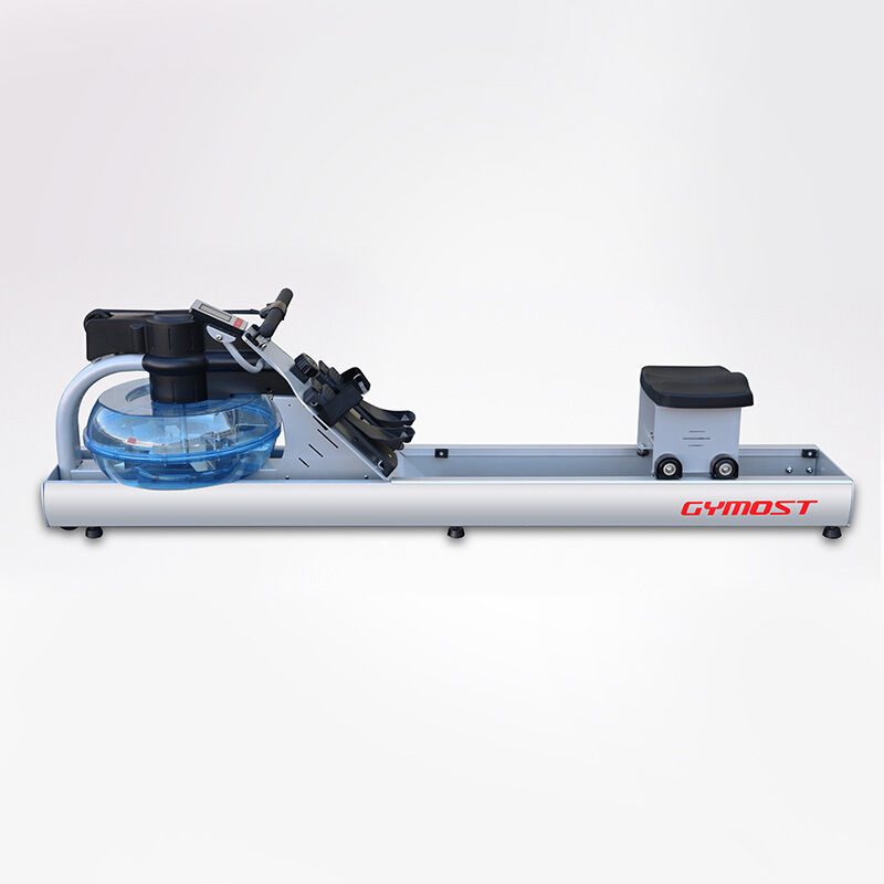 吉姆思(GYMOST)划船器 家用水阻划船机 静音划艇商用健身器材风阻液阻划水器6202