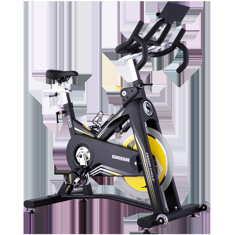 康强动感单车S900 家用商用动感单车 健身房专用动感单车
