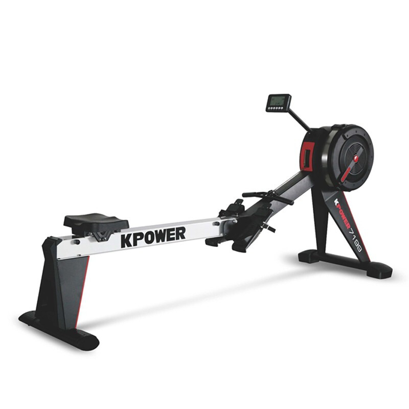 康强康乐佳高端商用划船器K7199 健身房专用KPOWER风阻划船机