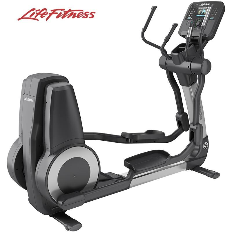 LIFEFITNESS 力健椭圆机进口健身器材配备7英寸液晶显示屏