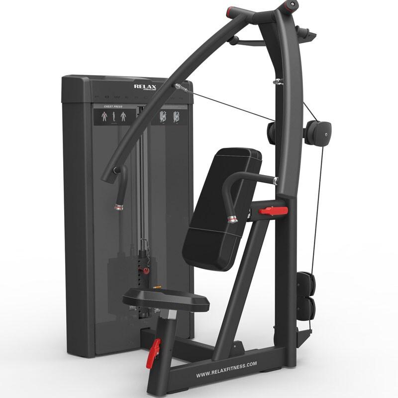 英吉多 RELAX 坐姿推胸训练器Seated Chest Press PC2001 商用健身器