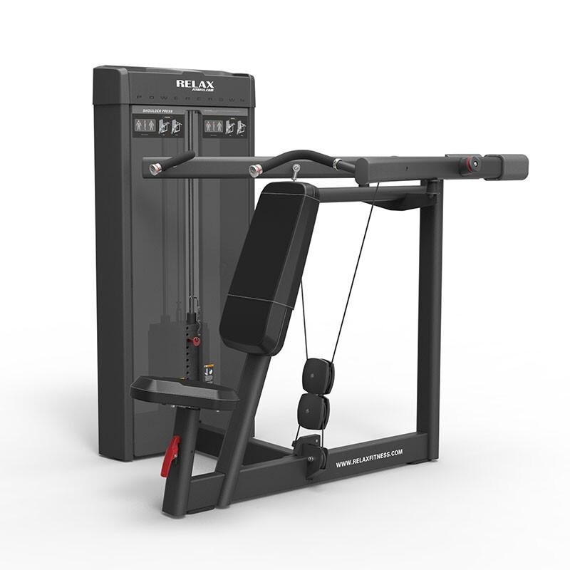 英吉多 RELAX 坐姿推肩训练器 Shoulder Press PC2003 健身房 商用健身器