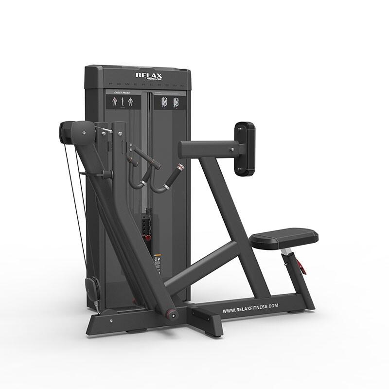 英吉多 RELAX 坐姿划船拉背训练器 Seated Row PC2002 商用健身器 健身房