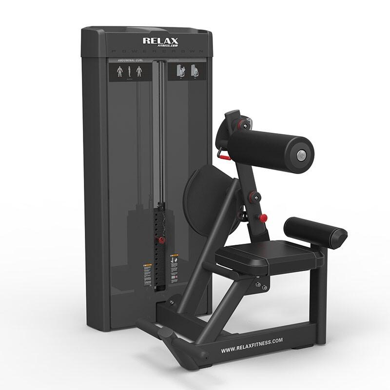 英吉多 RELAX 坐姿腹肌训练器 Abdominal PC2009 商用健身 健身房