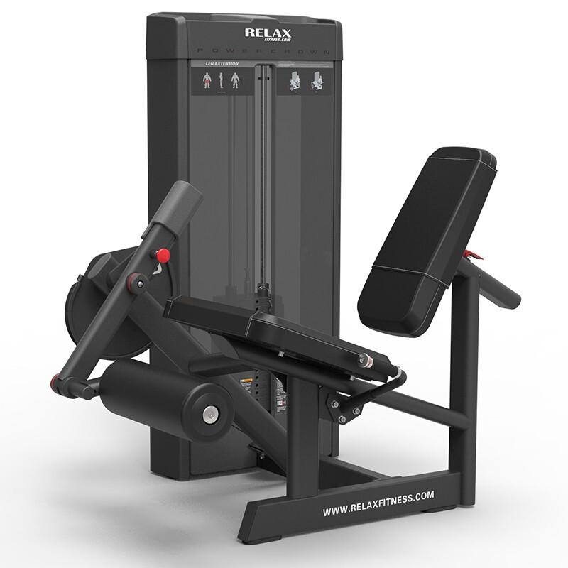 英吉多 RELAX 坐姿踢腿训练器 Leg Extension PC2005 健身房 商用健身器