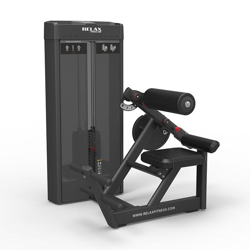 英吉多 RELAX 坐姿后仰腰背训练器 Back Extension PC2010 商用健身器