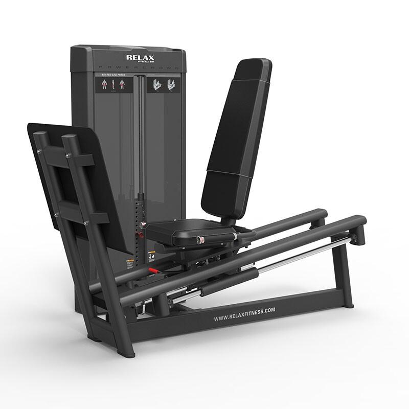 英吉多 RELAX 坐姿蹬腿训练器 Seated Leg Press PC2011 商用健身器