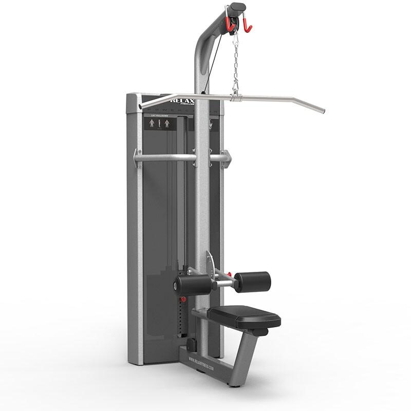 英吉多 RELAX 坐姿下拉训练器 Lat Pulldown PC2013 商用健身器 健身房
